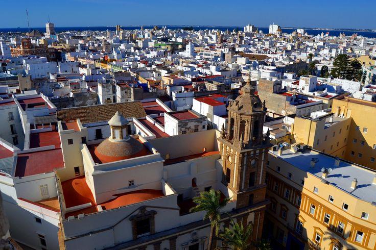 vistas desde la torre de poniente de la catedral de cadiz - Buscar con Google