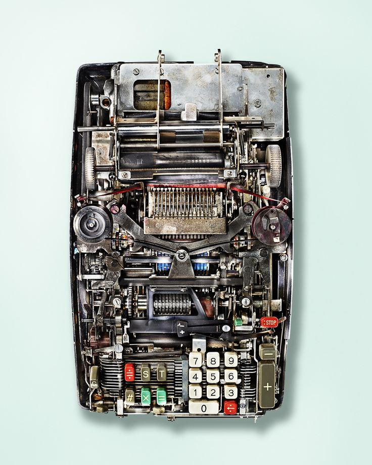 The Surprising Complexity of Old-School Calculators | Monroe Mach 1.07, 2014.             Kevin Twomey  | WIRED.com