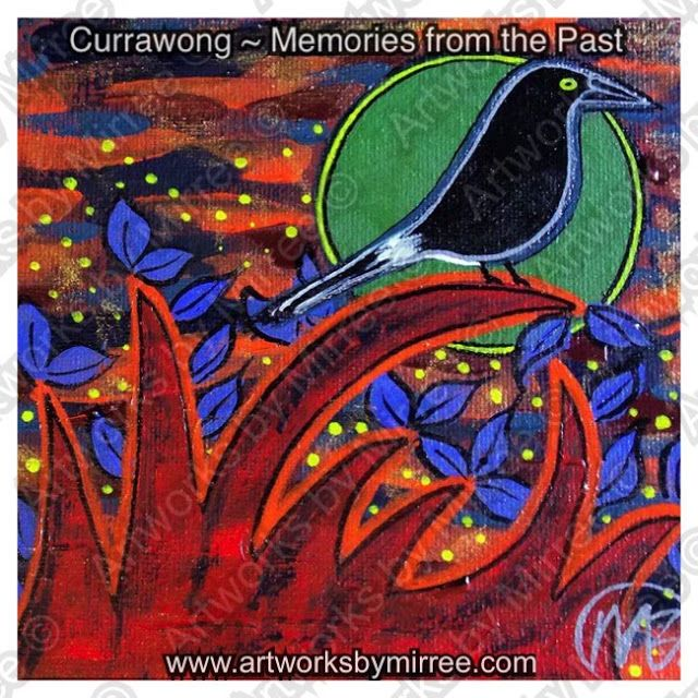 Artworks by Mirree: Currawong ~ Ghosts from the Past by Mirree