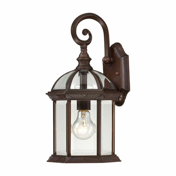 nuvo lighting boxwood 1 light 15in outdoor wall sconce w - Nuvo Lighting