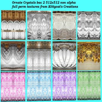 Ornate crystal textures 2 box