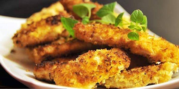 Polędwiczki w parmezanie / sirloin in parmesan  www.kiermusy.com.pl