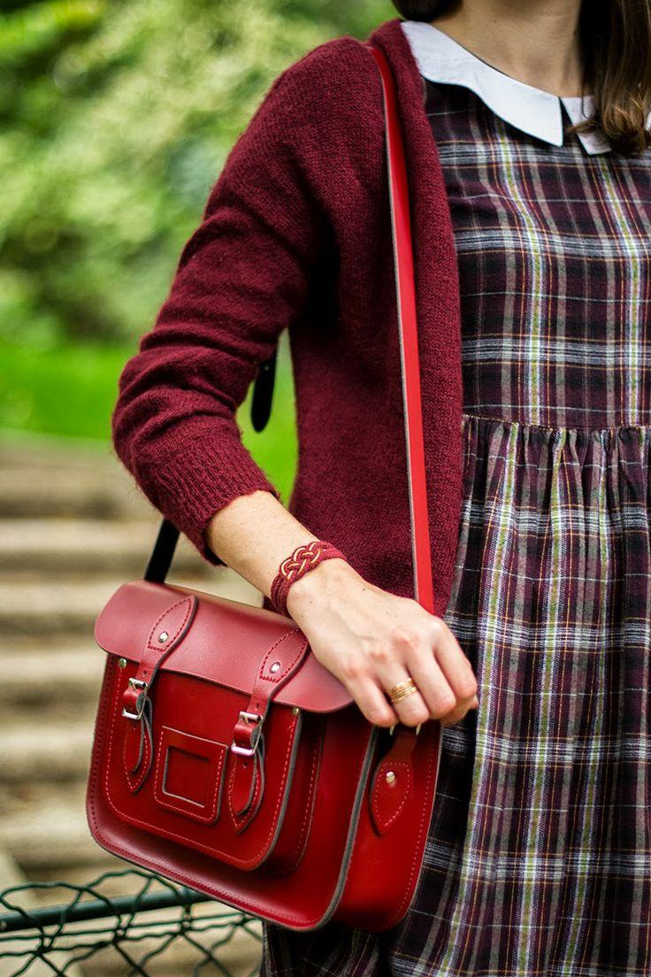 Mode and The City - Blog mode et lifestyle // tartan hat burgundy dress