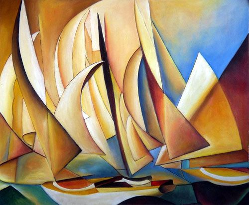 Charles Sheeler: Pertaining to Yachts and Yachting--Futurism