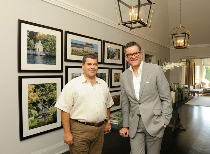 Carlos Jardino and Brian Gluckstein at the 2013 Princess Margaret Oakville Show Home Launch Party