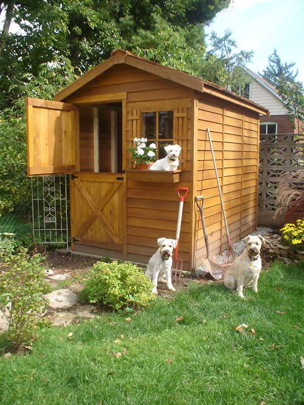 Our Little 8u0027 X 12u0027 Cedar Shed Kits Are Attractive And Versatile And Make