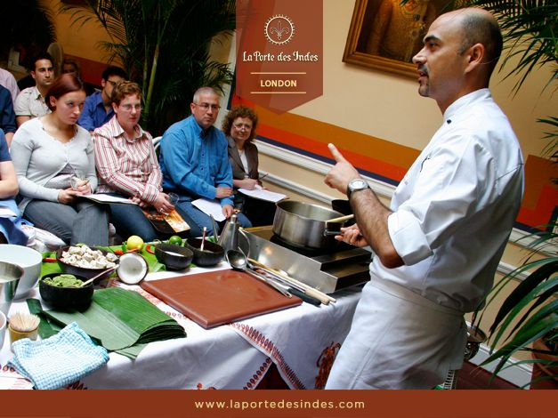 Interested in our #IndianCooking classes conducted by our award-winning Executive Chef Mehernosh Mody? Bring your recipe books! Read more here: http://www.laportedesindes.com/london/indian-cooking-classes/