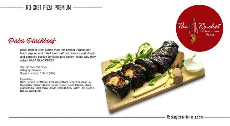 Ro-cket Pizza Baba Blackbeef. Disc 10%, Order Now: rocketpizzaindonesia.com