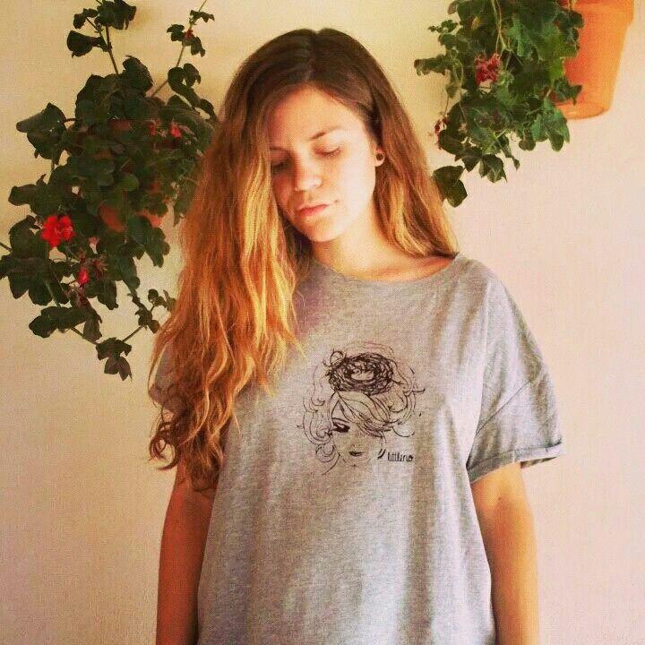 Silvia desde Elche con su camiseta Littleno ♥