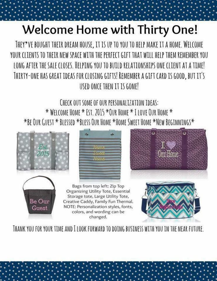 sweet welcome to your new home gift ideas. Realtors gifts for new home owners 12 best Thirty One Realtor Ideas images on Pinterest  31