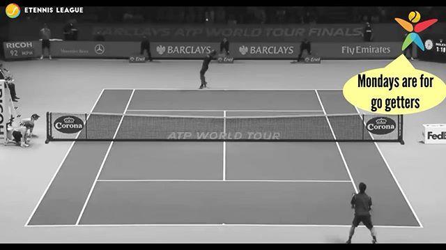 Even the GOAT has a bad case of Monday 😅😄☕⠀ 🎾 #MondayBlues #Federer #rogerfederer #mondaysbelike #mondaymood #etennisleague #etennisleaguenation #tennis #tennismiss #tennisfail #Barclays #london