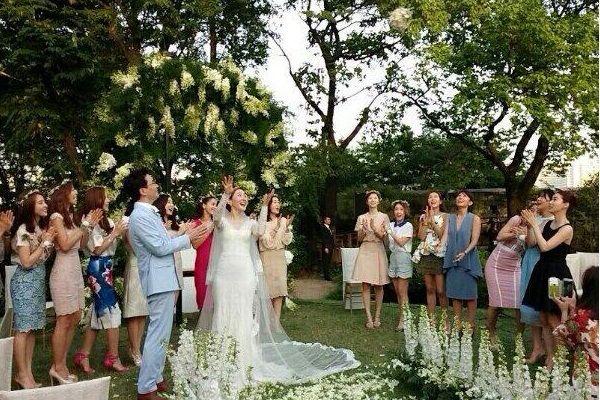 wikitree | 하객들이 전한 엄지원 결혼식 사진 총정리
