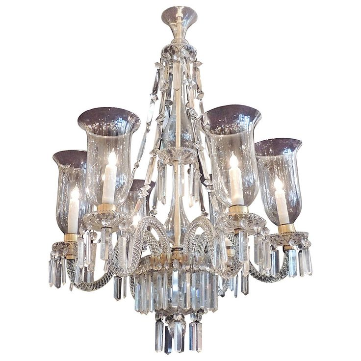 Late 18th Cenury Anglo Irish Crystal Chandelier From A Unique Collection Of Antique And Modern