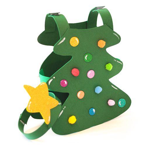 Disfraz de árbol de Navidad Disfraz de árbol de Navidad