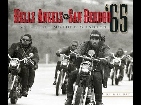 A Hells Angels member from Arizona checks traffic during the 2006 ...