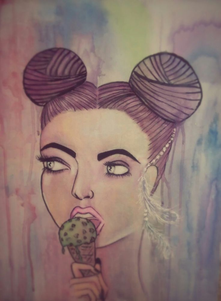 #Water color #popart . painting fun