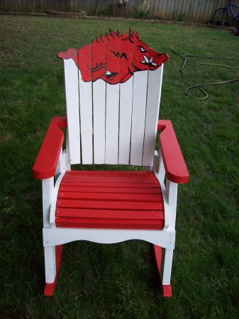 Razorbacks chair