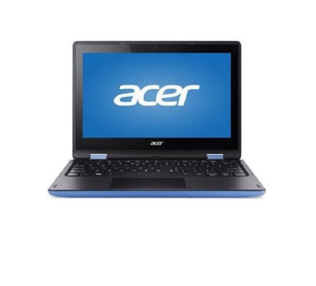 """Acer Laptop 11.6"""" Acer Touchscreen Ssd Intel 32Gb R3 131t Celeron Refurbished PC"""