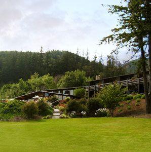 Tu Tu'Tun Lodge in Gold Beach, Oregon.