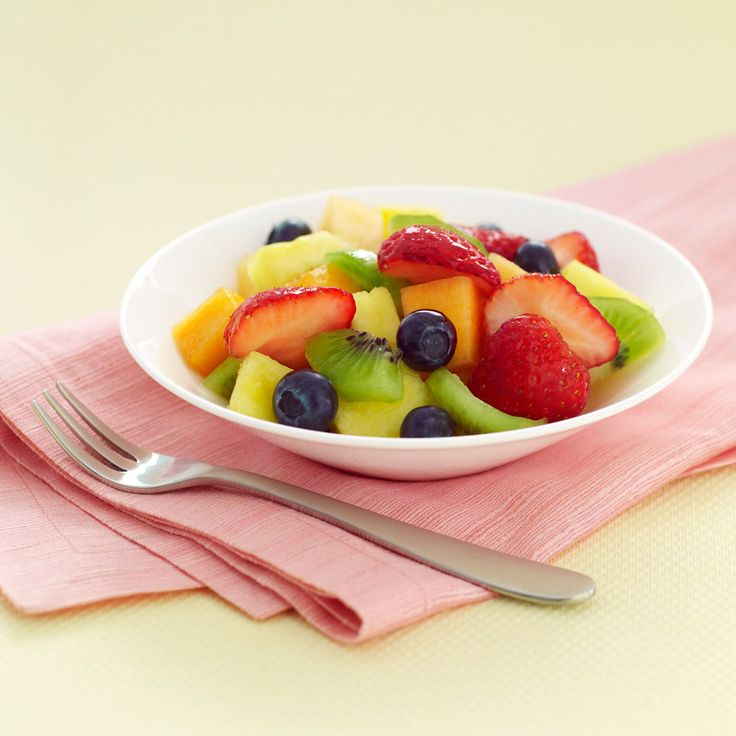Refreshing fruit salad is welcome anytime -- serve at brunch, at dessert or snack time, or bring to a potluck.