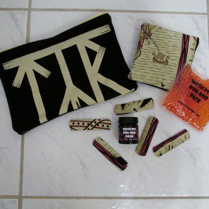 Tyr Mosh Pit Boo-Boo Kit DIY Folk Metal 2 by DarkStormDesign on Etsy