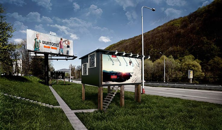 1 | Turning Billboards Into Tiny Houses For The Homeless | Co.Exist | ideas + impact