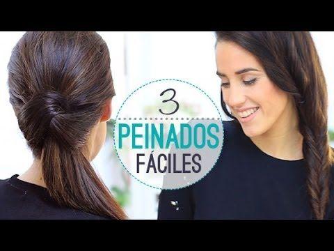 ▶ PEINADOS DE FÁCILES PARA CADA DÍA - YouTube