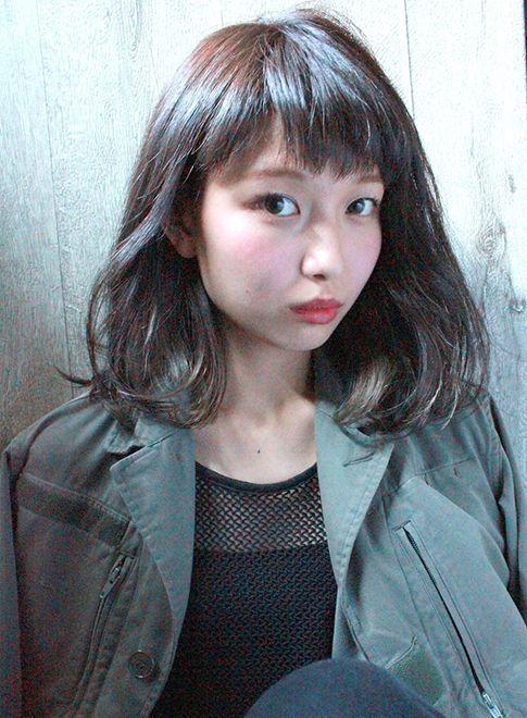 モードロブ 【La.a.g.f】 http://beautynavi.woman.excite.co.jp/salon/22798?pint ≪ #mediumhair #mediumstyle #mediumhairstyle #hairstyle・ミディアム・ヘアスタイル・髪形・髪型≫