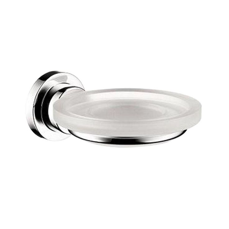 Hansgrohe Axor Citterio Wall-Mounted Soap Dish and Holder in Chrome (Grey)