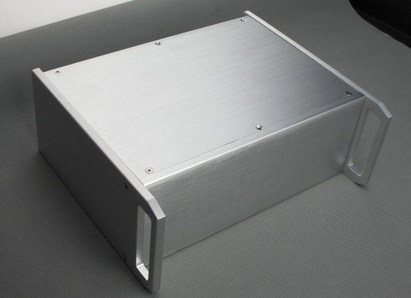 69.09$  Watch here - http://alie9o.worldwells.pw/go.php?t=32637232801 - WANBO With handles aluminum chassis model BZ3212 do amplifier / preamp / decoder / tube amp width 320 height 120 depth 265 69.09$