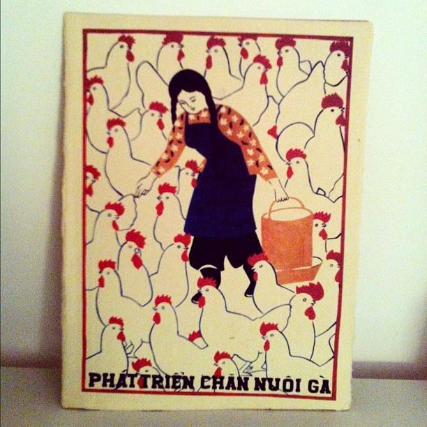 "@suzettemonamour's photo: ""My vietnamese poster collection #2 ""Develop chicken rearing"" #poster #propaganda #comunism #vietnam #viet #vietnamese #graphicdesign #art #instagram #instagrambest #bestphoto #bestoftheday #instadaily #instamood #popular #igersbcn"""