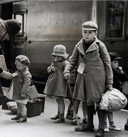 evacuation children