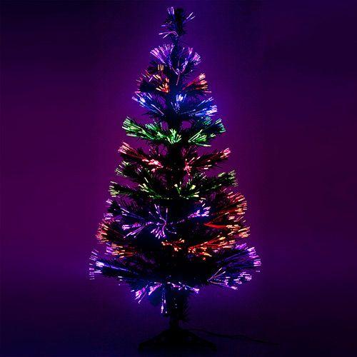 Árvore de Fibra Ótica 1,00m  - Christmas Traditions
