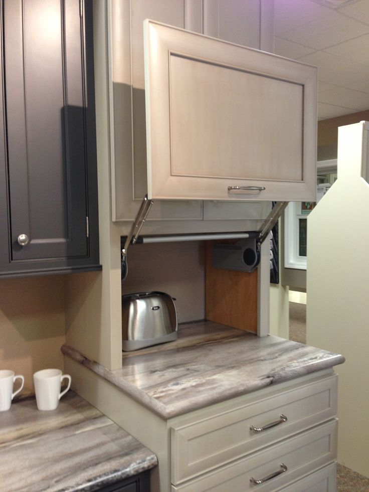 Cabinets That Hide Kitchen Appliances Nice It Gets The