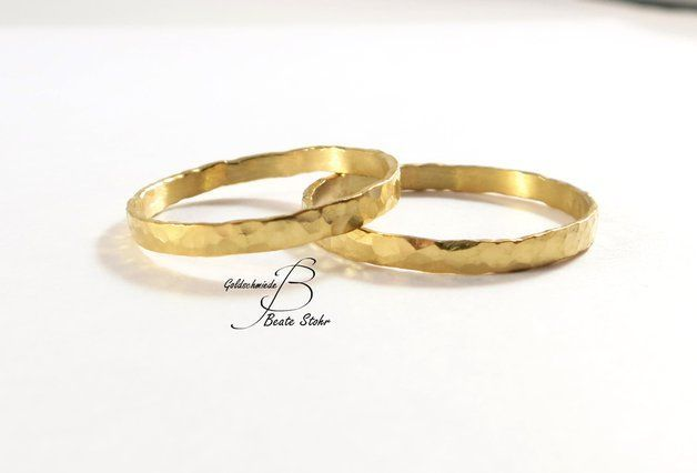 Eheringe – Eheringe geschmiedet Gold 585 Handarbeit – ein Designerstück von Beate-Stohr bei DaWanda – #BeateStohr #bei #DaWanda #Designerstück #Eheringe #ein #geschmiedet #Gold #Handarbeit #von