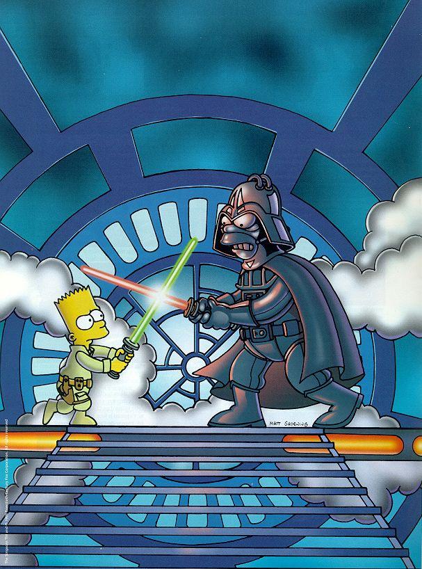 Stars Wars on the Simpson