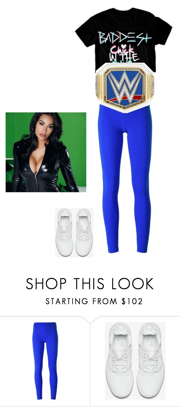 """(SUPER LATE) Carmen: Joining Mickie James in Attacking Becky Lynch"" by lsd-and-halloweencandy ❤ liked on Polyvore featuring No Ka'Oi and NIKE"