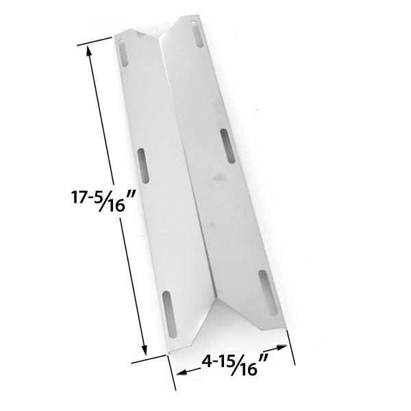 STAINLESS STEEL HEAT SHIELD FOR PERFECT GLO, CHARMGLOW 720-0304, HD 720-0304, PERMASTEEL PG-50400S & PRESIDENTS CHOICE PC10011016 GAS GRILL MODELS  Fits Perfect Glo Model :    PG-50400S Perfect Glo , PG-50401S , PG-50403SRL , PG-50404SOL , PG-50406S0L , PG50400S , PG50401S , PG50403SQL , PG50403SRL  BUY NOW @ http://grillpartsgallery.com/shopexd.asp?id=33574&sid=26605