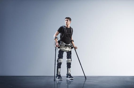 Wearable robots for the paralyzed take a step forward - CNET