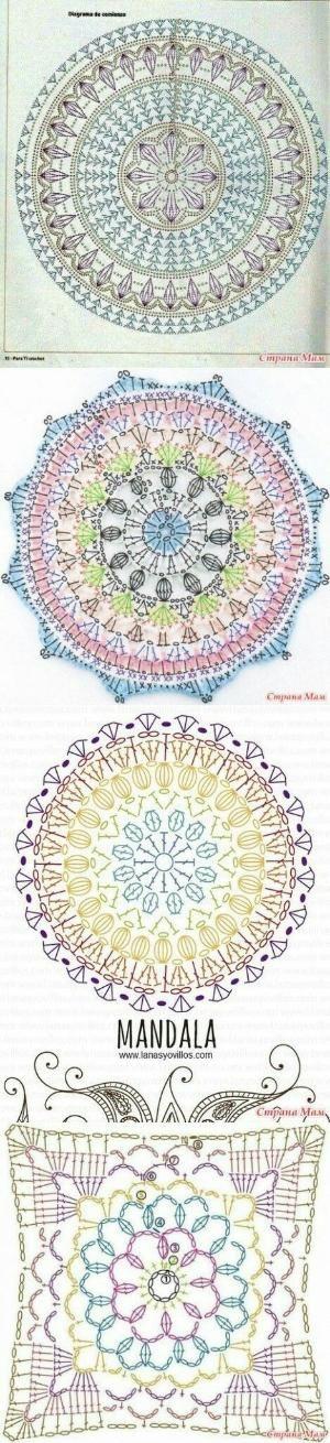 Crochet blanket carpet designs..<3 Deniz <3 by kari