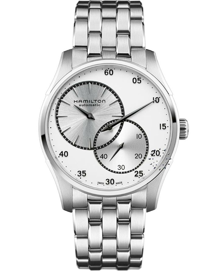 HAMILTON Jazzmaster Auto Regulator Stainless Steel Bracelet Μοντέλο: H42615153 Η τιμή μας: 941€ http://www.oroloi.gr/product_info.php?products_id=38268