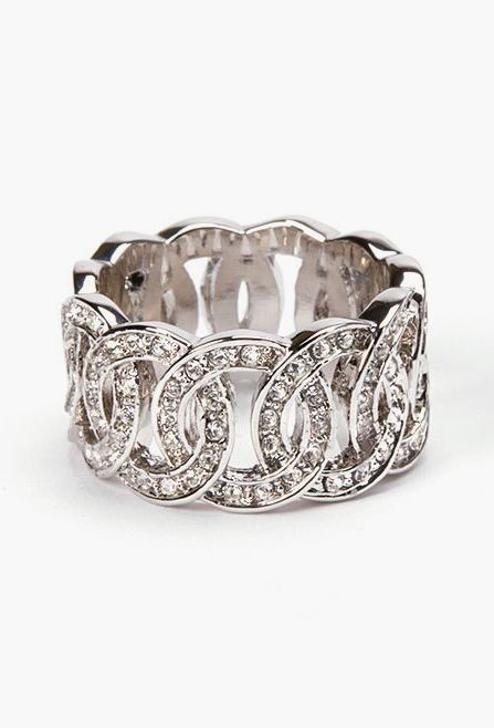 Sparkle Loop Eternity Ring - this has 20th anniversary written all over it. ;)