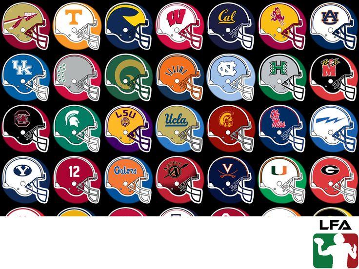 #futbolamericanoenmexico FUTBOL AMERICANO EN MÉXICO. La National Collegiate Athletic Association o por sus siglas NCAA, es la liga de futbol americano colegial en Estados Unidos. Está compuesta por equipos de las diferentes universidades de este país y de ella salen los jugadores para la NFL en la temporada del Draft. Si deseas conocer más sobre fútbol americano, te invitamos a visitar nuestra página en internet www.lfa.mx.