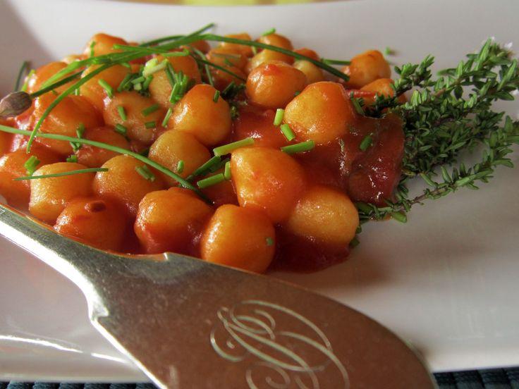 Senza uova e senza farina, profumatissimi! Gnocchi di patate con timo ed erba cipollina http://cucinaresuperfacile.com/?p=978