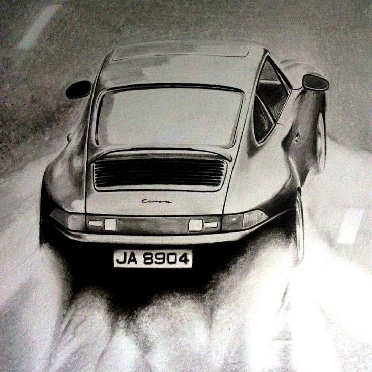 Porsche 911(993) drawing