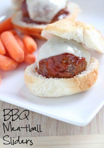 BBQ Meatball Sliders Recipe