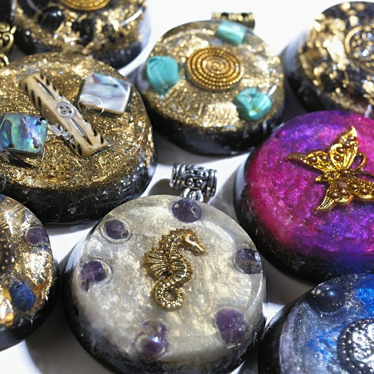 81 best orgone pendants images on pinterest gemstones gems and chakra make orgonite orgonise yourself crystal healing orgone aloadofball Choice Image