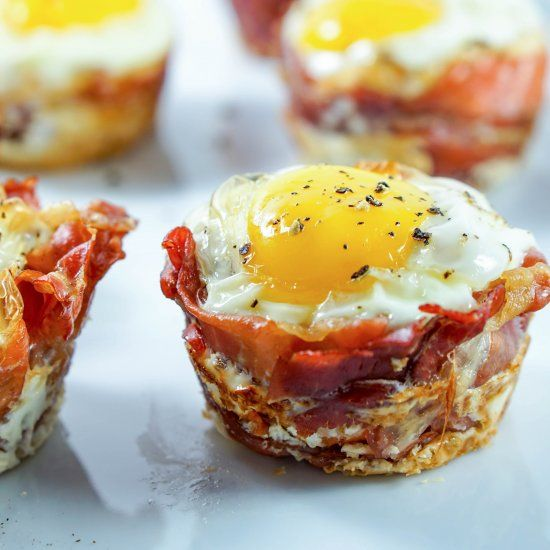 Try Prosciutto Sweet Potato Breakfast Nests for a quick on-the-go breakfast that leaves you feeling full and energized all morning.