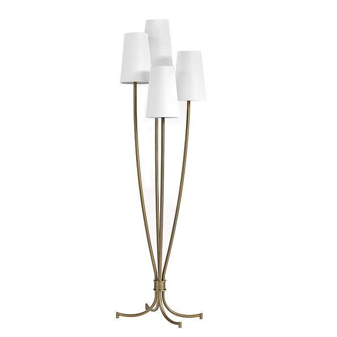 Lottie Metal Floor Lamp With Shades In 2021 Metal Floor Lamps Floor Lamp Lamp Best place to buy floor lamps