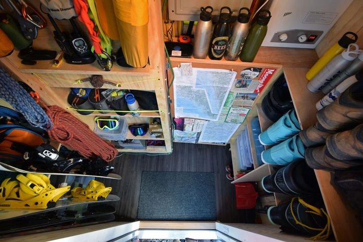 Tricked-out tiny home even includes a gear room - Curbed